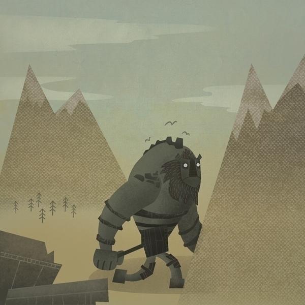 Shadow Collosus - Behemoth Noma - jamesloram | ello