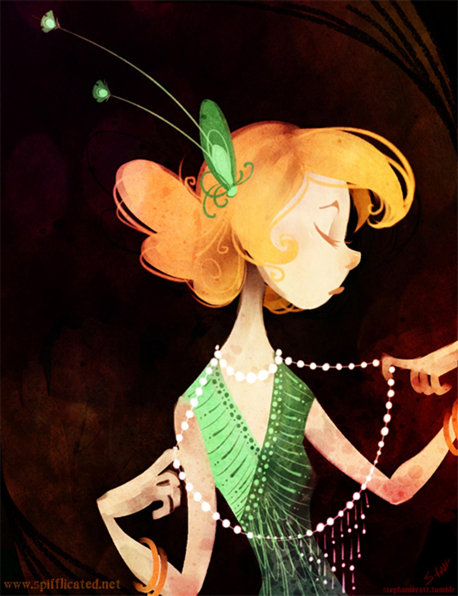 Glitters 1 - flapper, girl, jazz - stephanierat   ello
