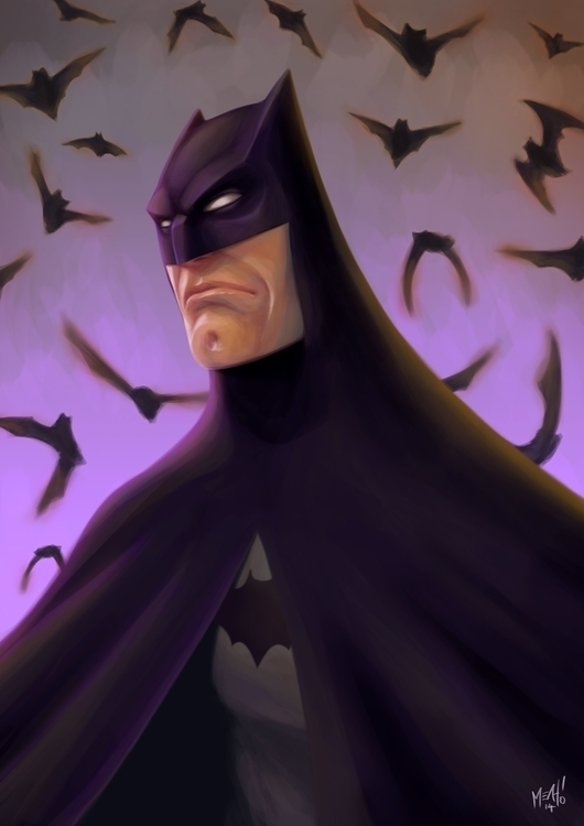 Bats - illustration, batman - adman2808 | ello