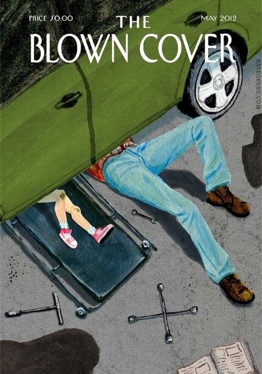 mock Day Yorker cover Blown Cov - kateoberg | ello