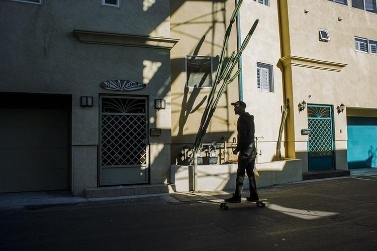 skater, Speedway Ave., Venice,  - frankfosterphotography   ello