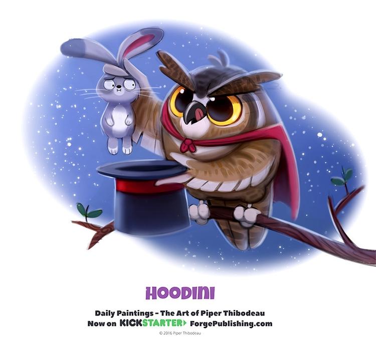 Daily 1333. Hoodini - piperthibodeau | ello