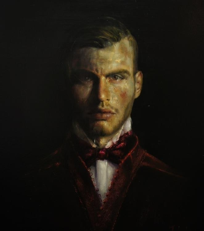 painting, portrait - michailtsakountis | ello