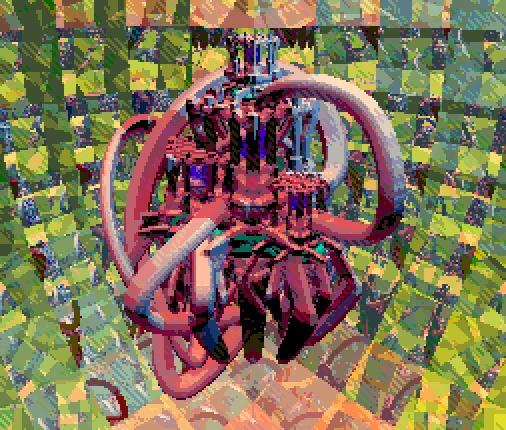 Castle - 3d, pixelart - cellusious | ello