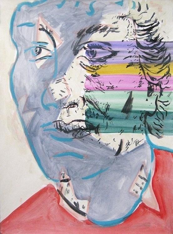 Matt acrylic paper 2015 - portrait - frankcreber | ello