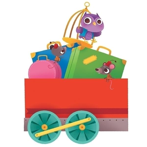 Le train des animaux bus titles - beatricecostamagna   ello