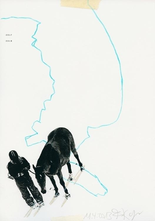 future - collage, digitalart, horse - kopfsprung-4141 | ello