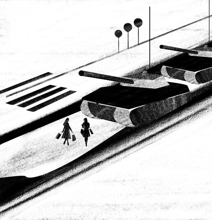 Op/Ed 25th anniversary Tiananme - michelabuttignol | ello