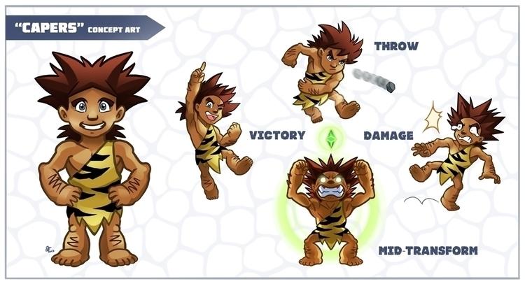 Capers concept art - characterdesign - rhandidandy   ello