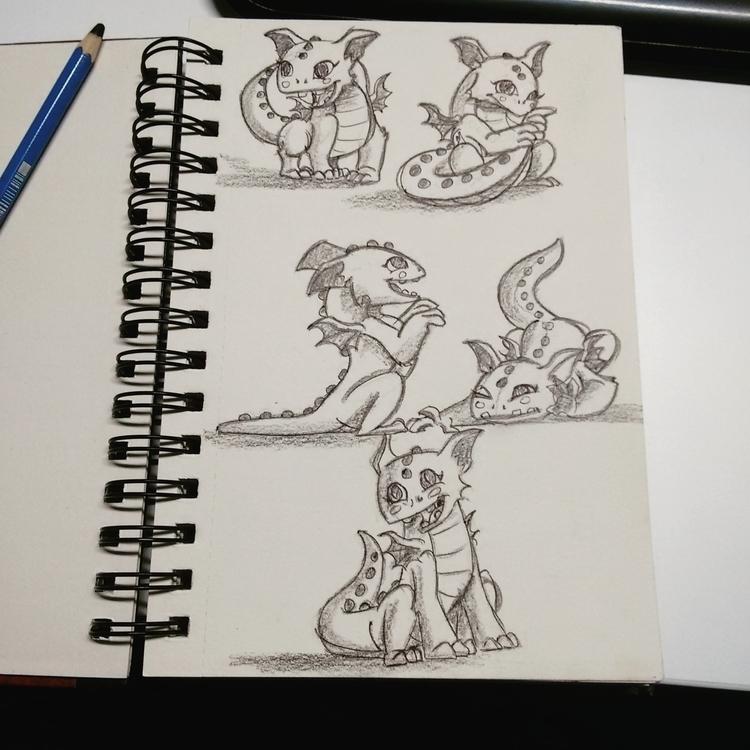 Dino kid - illustration, animation - kripal | ello
