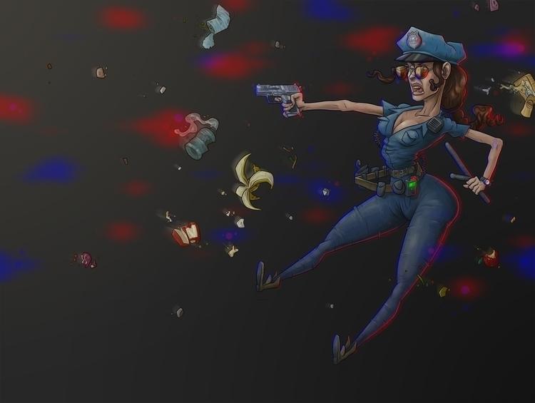 sexy police officer - lol - debokaaa | ello