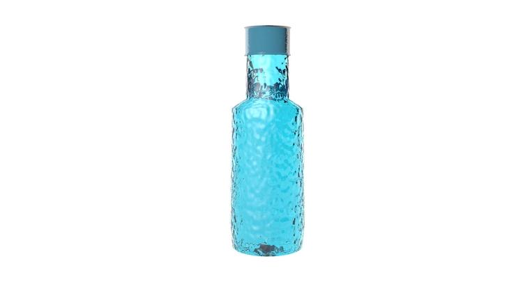 3D Bottle glass - 3d, #3dmodel, 3dmodel - sandurojas | ello