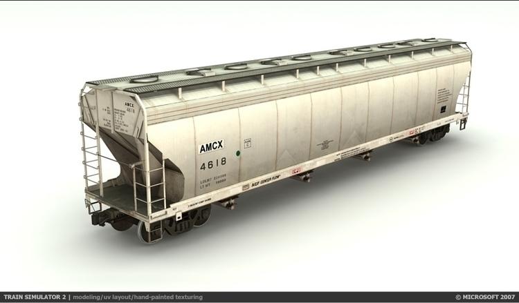 Train Sim 2 - Covered Hopper Mo - blksrfc | ello