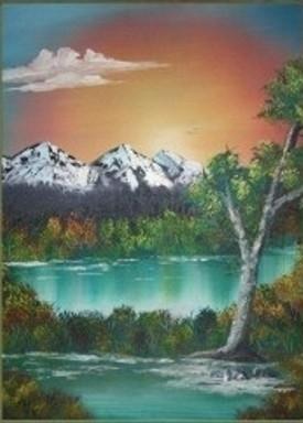 Retreat - painting - brandyhouse | ello