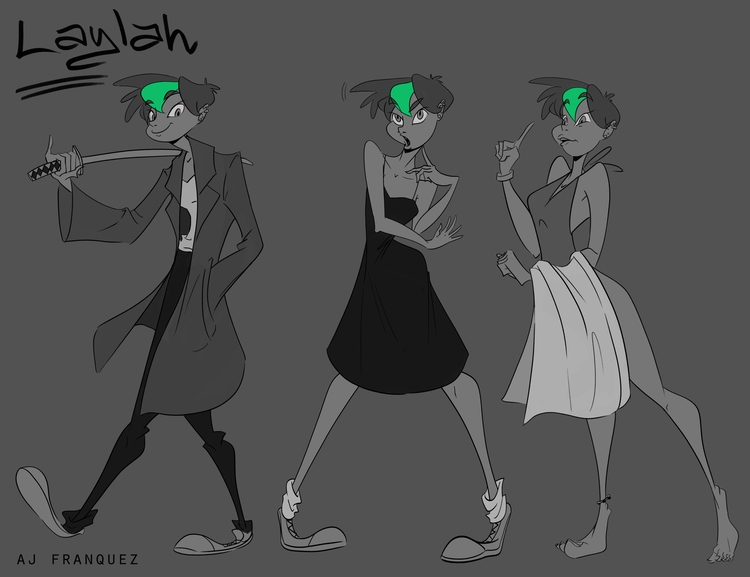 Laylah - characterdesign, girl, character - fishfranqz | ello