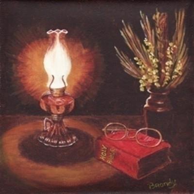 Bible Study - painting - brandyhouse | ello
