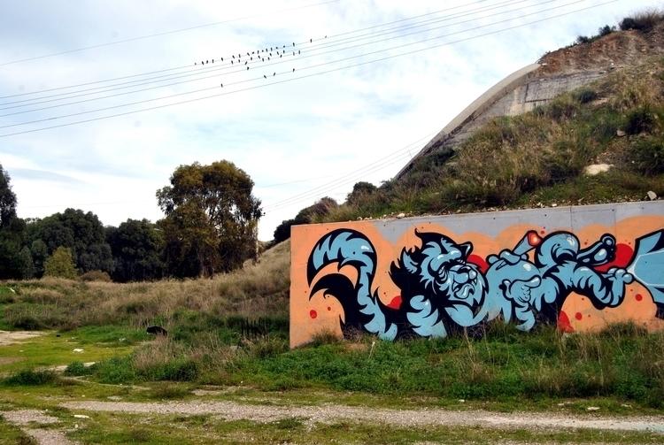 Chilling tiger, 2014 - graffiti - kaiman-6057 | ello