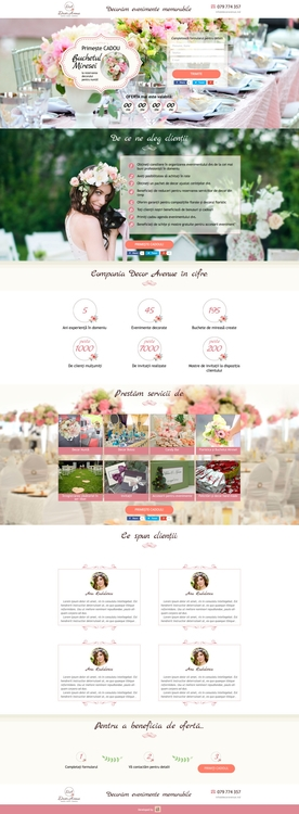 Landing Page Decoration Company - julia-3807 | ello