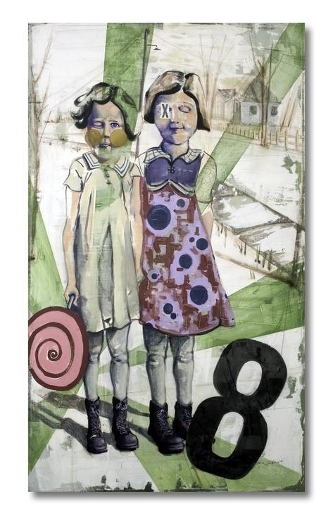 Girls - painting - tilman-1445   ello