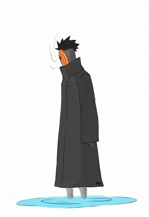 Akatsuki: Obito Uchiha - illustration - siddp | ello