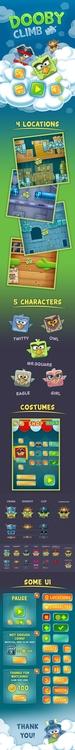 Graphics UI Softgames.de - characterdesign - vadich | ello