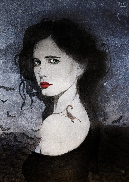 Ives - pennydreadful, actress, evagreen - kunarysuje | ello