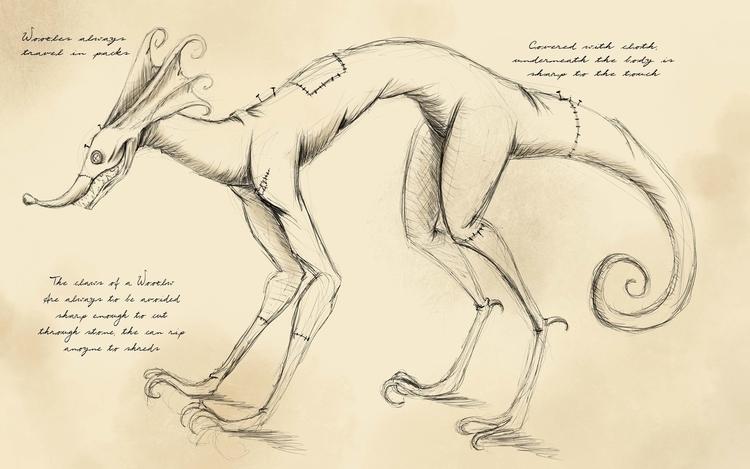 Woozles, dangerous creature Acr - hasaniwalker | ello