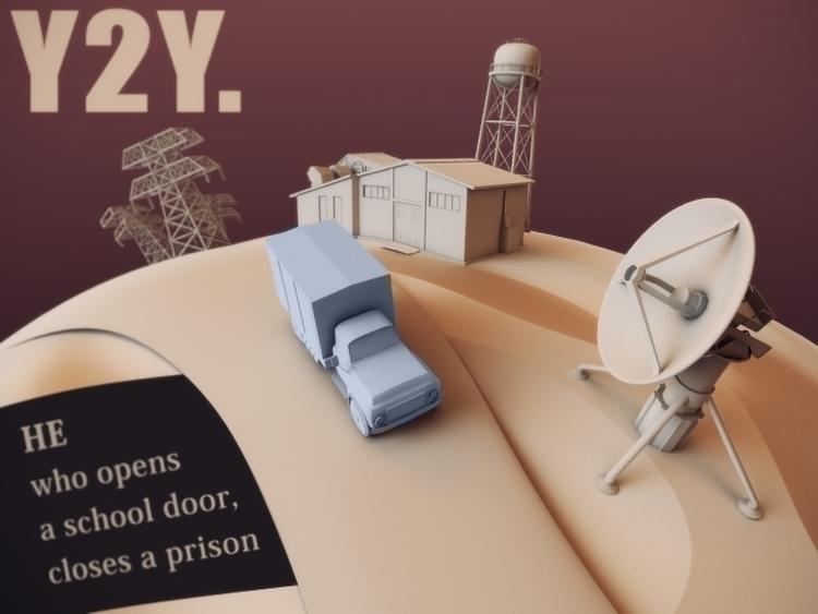 Y2Y - animation, 3d, environment - baratha | ello