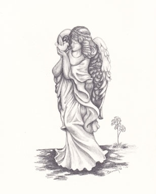Angel Love - drawing - brandyhouse | ello