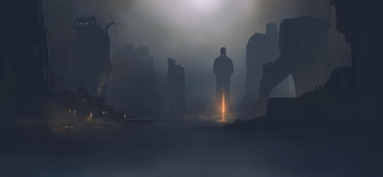Forgotten land - environment, animation - baratha | ello