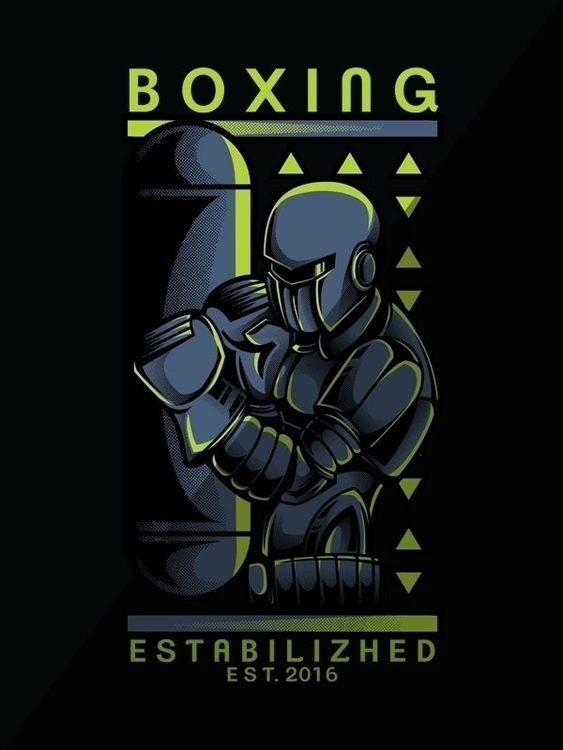 Boxing Series - 2, design, cool - badsyxn | ello