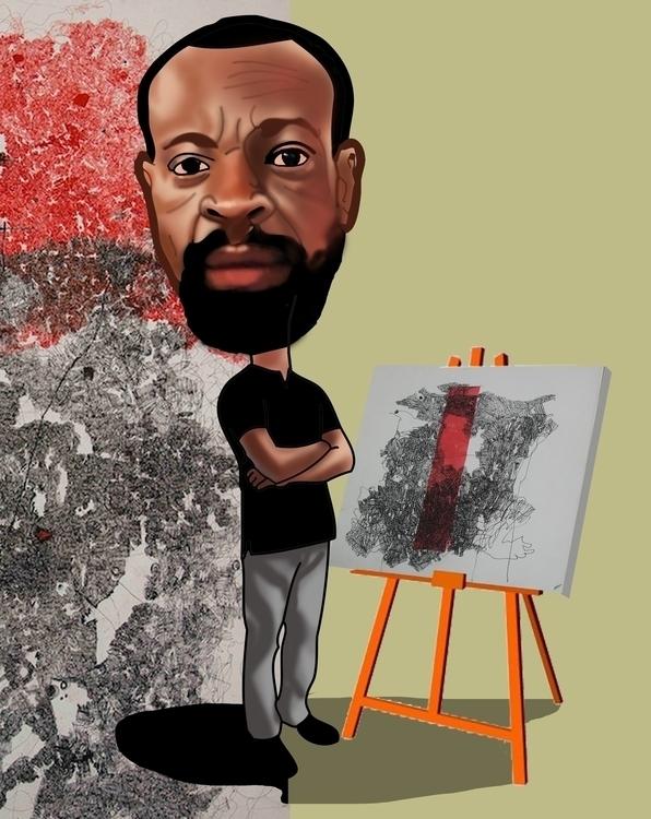 uche - portraitillustration, illustration#digitalart#design#characterdesign#photoshop#painting#davisvrworks#drawing#conceptart - sunnyefemena | ello