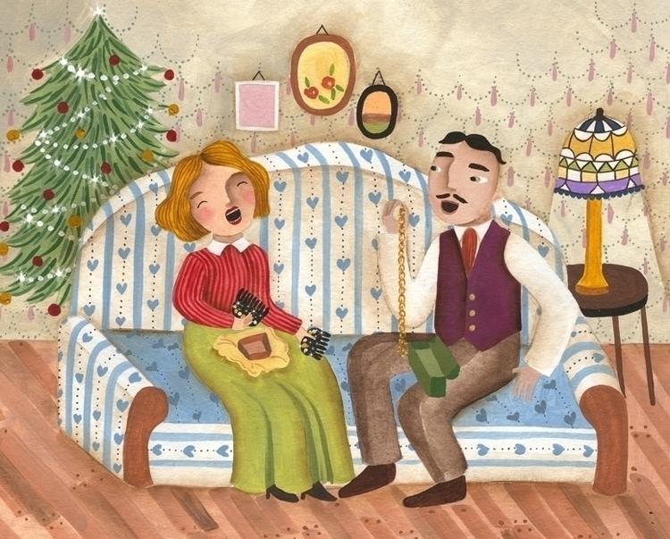 Scholastic Magazine - December  - valeriacis | ello