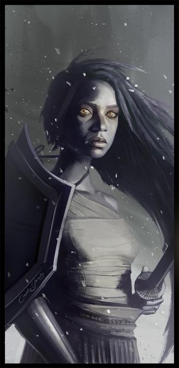 Ashes - characterdesign, conceptart - caitlinyarsky | ello