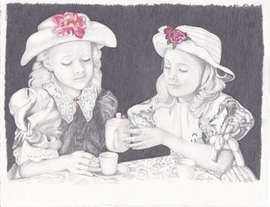 Tea Time - drawing - brandyhouse | ello