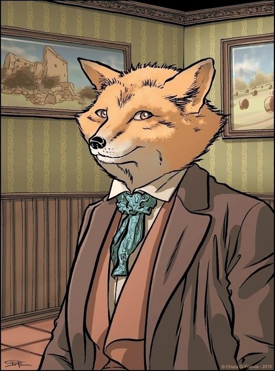 Foxy - fox, foxy, fantasy, portrait - chiaradifrancia   ello