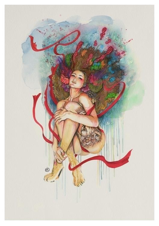 #waatercolor#drawing#fineart#illustration - mmtoloza   ello