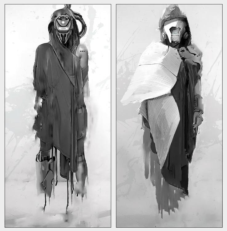 painting, conceptart, characterdesign - yuryhudov | ello