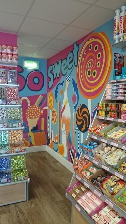 Artwork awesome sweet shop Devo - 7thpencil | ello