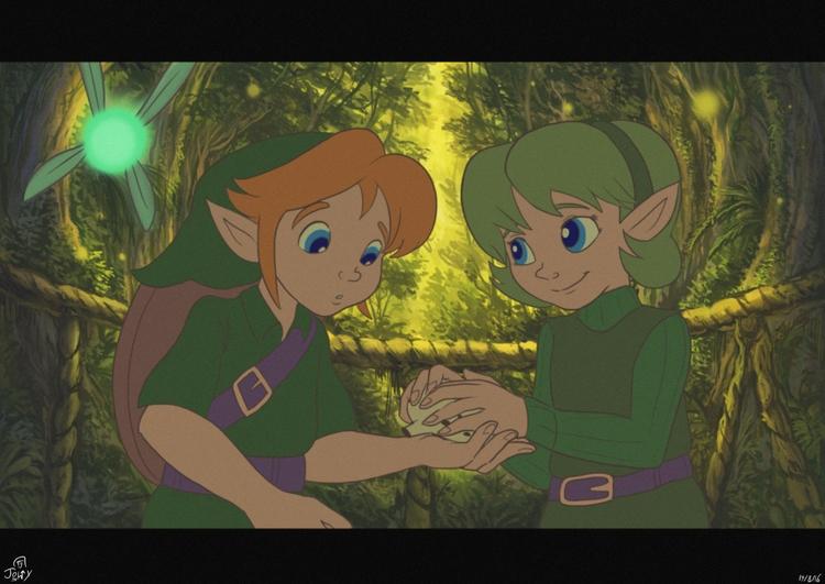 Legend Zelda Ocarina Time class - jowybeanstudios | ello