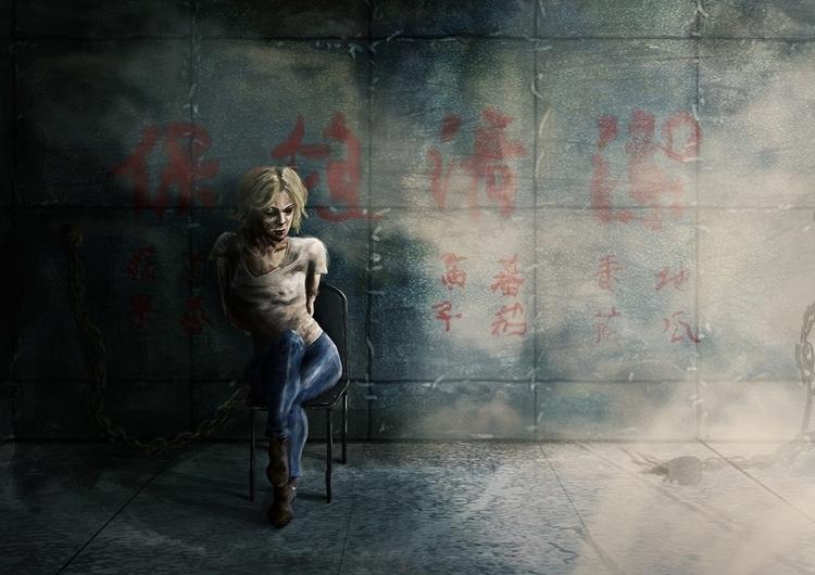Lucy 10mins timelimit - illustration - hugopoupart | ello