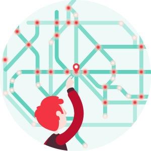 Net linking - illustration, design - angele-9975 | ello