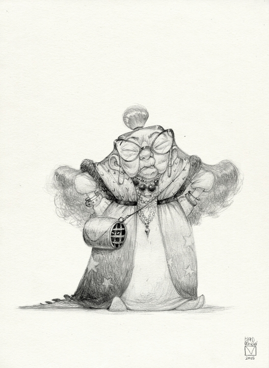 Sketchtober | 002 - illustration - blad_moran | ello