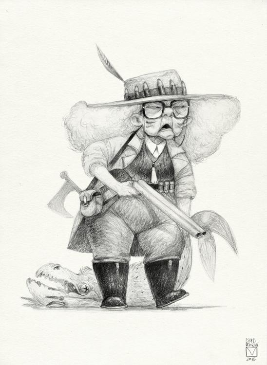 Sketchtober | 005 - illustration - blad_moran | ello