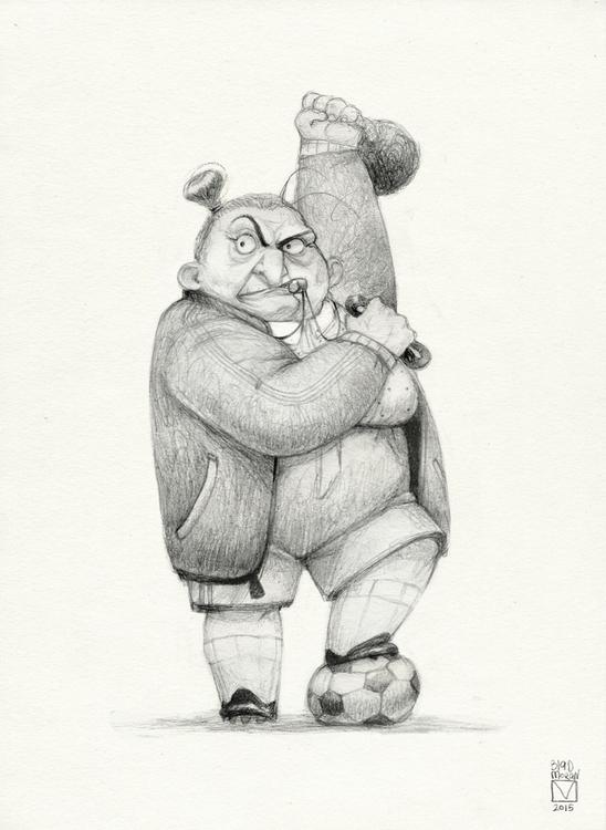 Sketchtober | 006 - illustration - blad_moran | ello