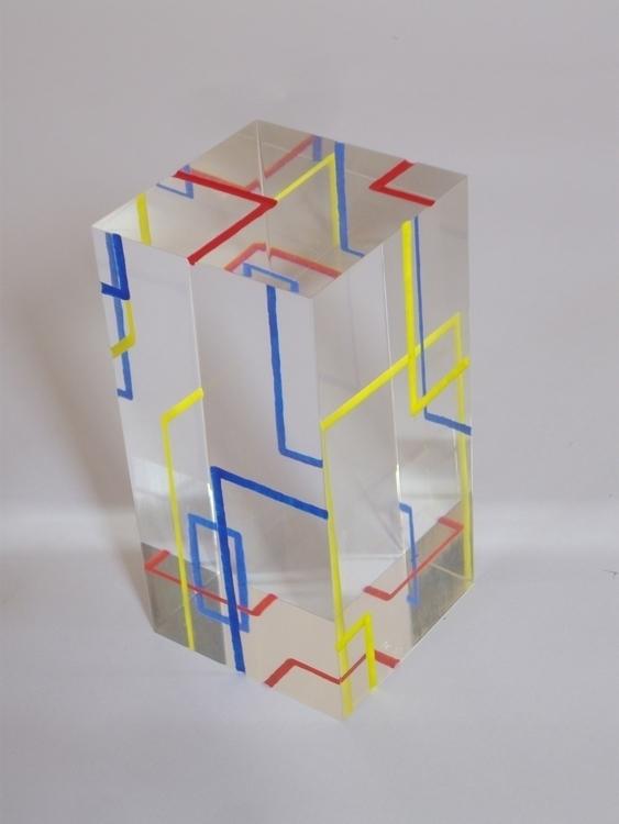 Colored Pad 5 - resin, sculpture - smouss | ello