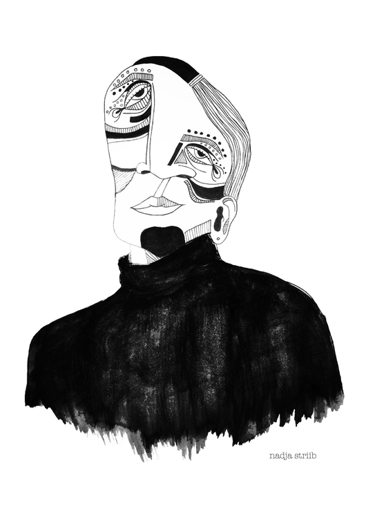 weird mister part series illust - nadjastriib | ello