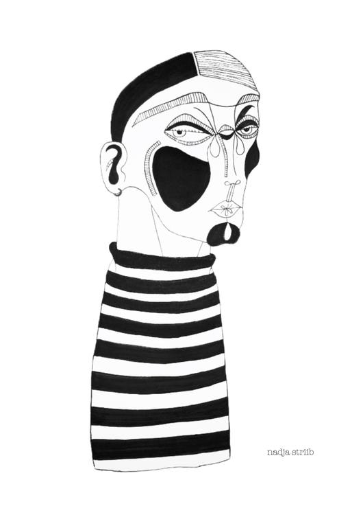 french guy part series illustra - nadjastriib   ello