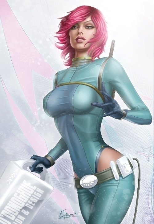 Woman - sexy, pinup, retrospace - eamon-9249 | ello