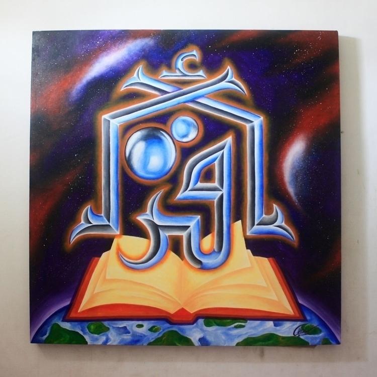 Acrilik Canvas 120 cm - painting - azwar-6931 | ello